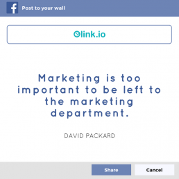 Marketing management quote by David Packard