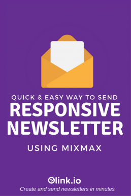 Quick & Easy Way to Send Responsive Newsletters Using Mixmax!