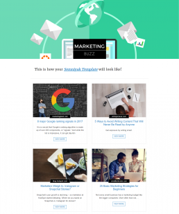 17 Curated Newsletter Template Designs That Are Fully Responsive