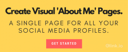 Create Visual About Me Pages