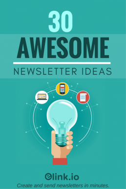 30 Awesome Curated Newsletter Idea For 2017