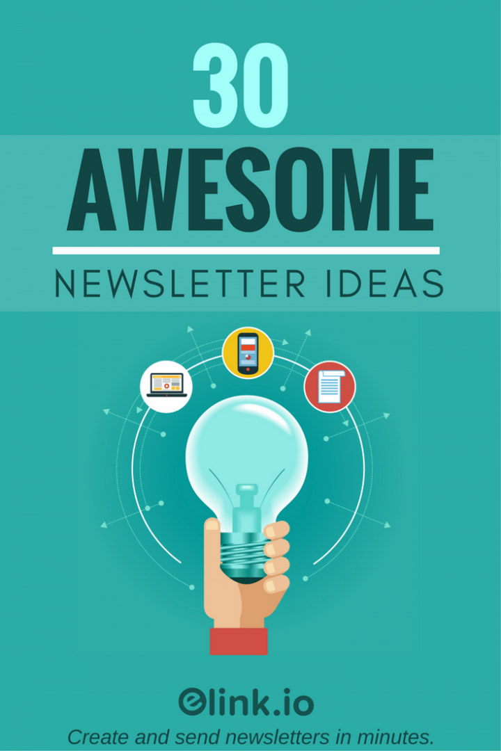 30 awesome curated newsletter idea for 2017 - Newsletter Ideas