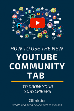 YouTube Community Tab : What & How To Use it For Subscribers - PIN 1