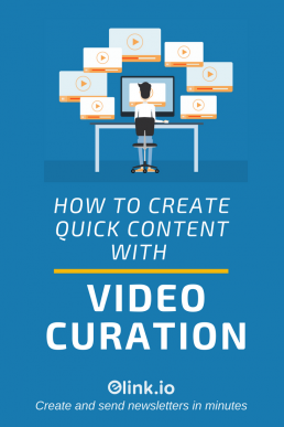What is Video Curation & How To Curate Video Content (Pin)
