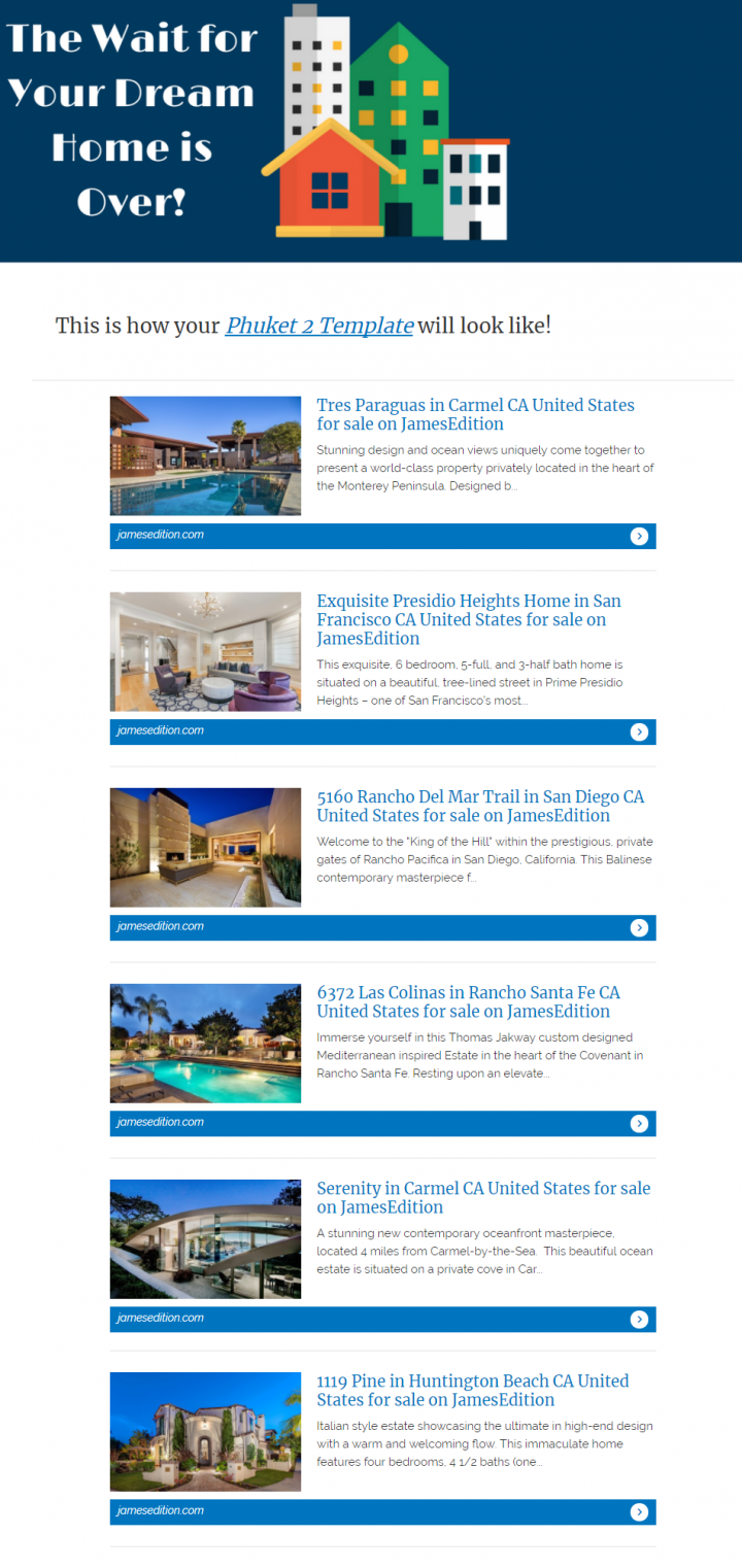 Real Estate Email Templates That Will Boost Your Sales - Estate sale ad template