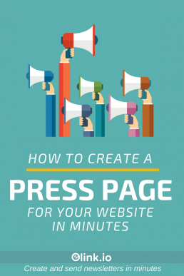 How to Create a Press Page for Your Website in Minutes (PIN)
