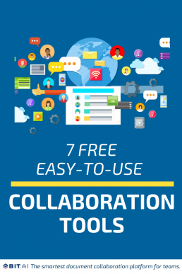 7 Free Easy-to-Use Online Collaboration Tools - Blog.elink.io - Collaboration Tools (Pin)