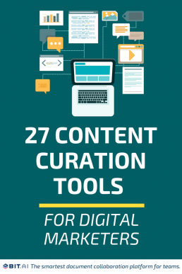 27 Content Curation Tools for Digital Marketers - Curation Tools (Pin)