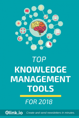 Top Knowledge management tools 2018 - KM Tools (Pin) (2)
